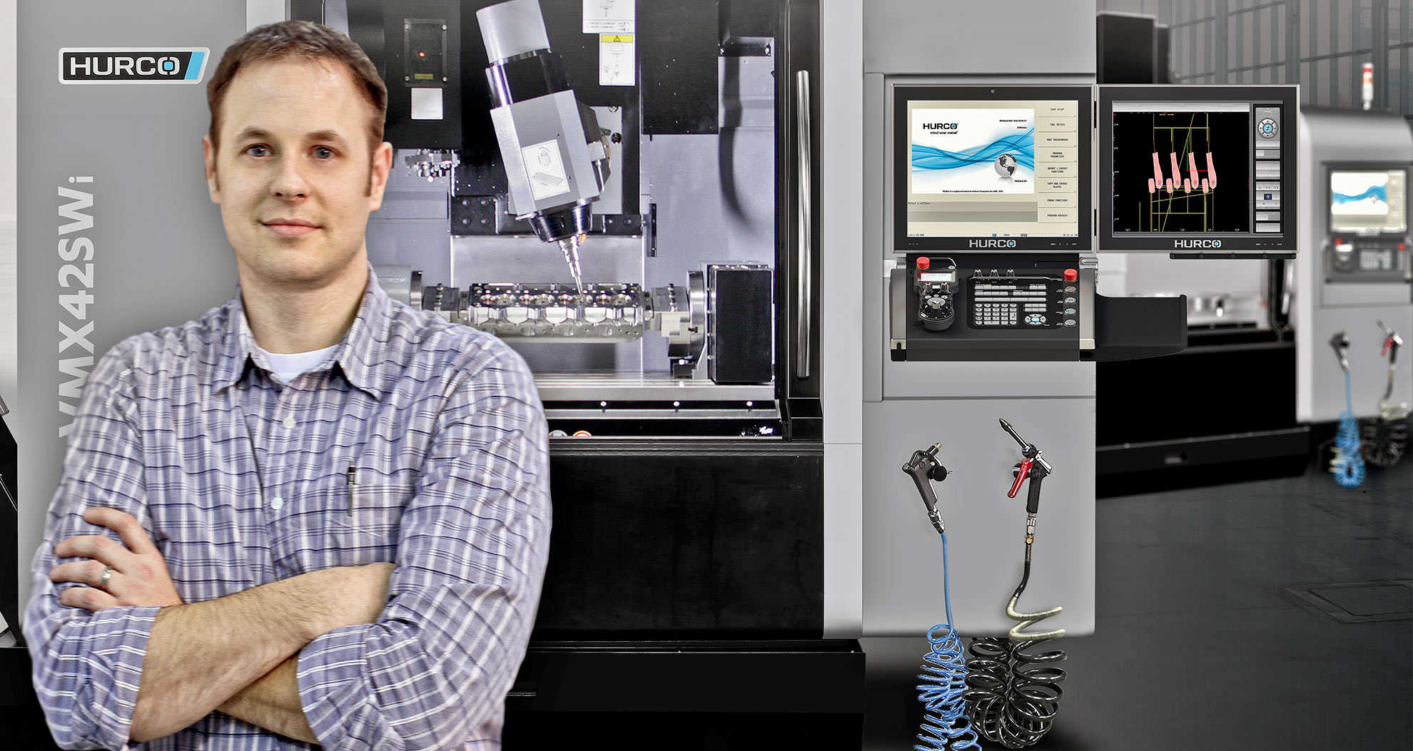 Proud 5-Axis CNC Machinist