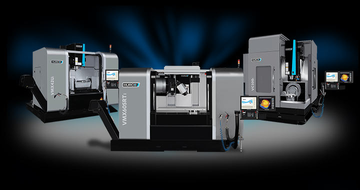 Hurco 5-Axis CNC Machine Product Line