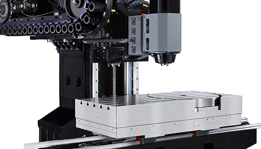 5-Axis Swivel Head CNC Machine Frame