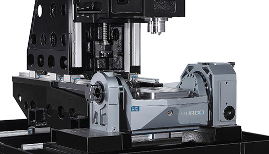 5-Axis Trunnion Table CNC Machine Frame