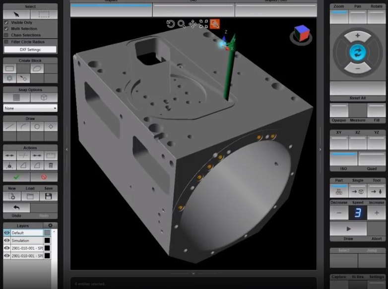 3D Import Feature on the WinMax® CNC Control