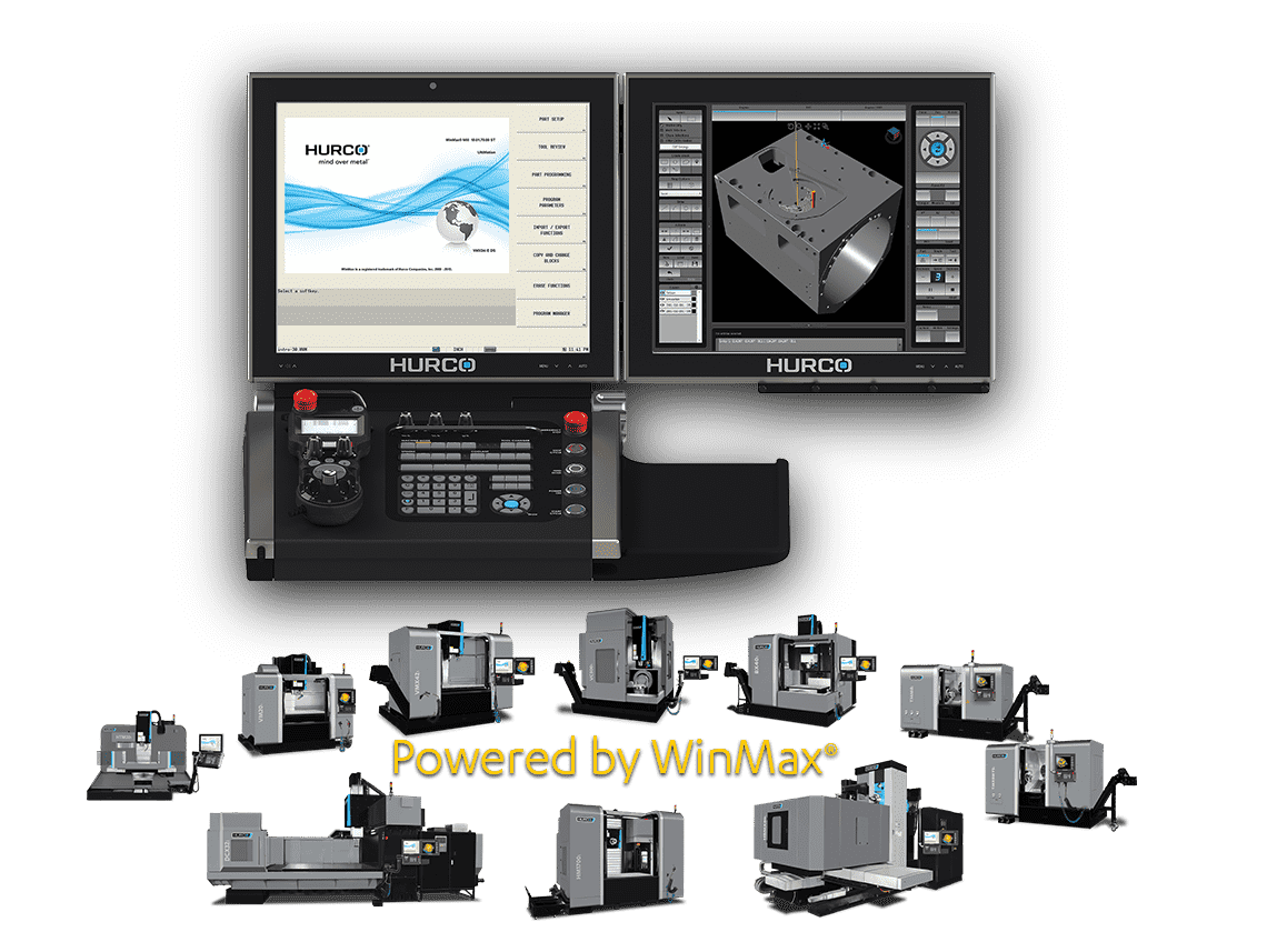 CNC Machines Hurco Powered By WinMax