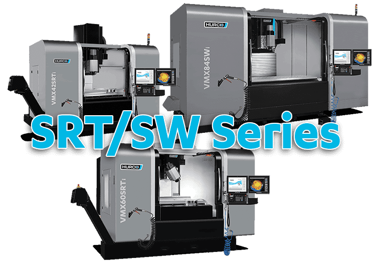 5-Axis cnc Hurco Swivel Head CNC Machine Series