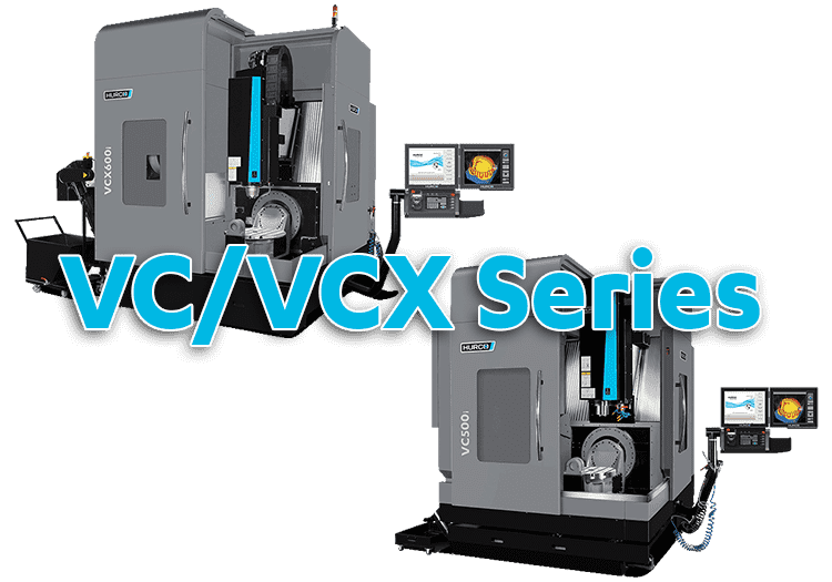 5-Axis CNC Hurco VC Series Cantilever Machining Centers