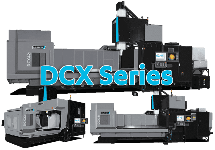 CNC machining center - Hurco DCX Series - Large Double Column Machining Centers