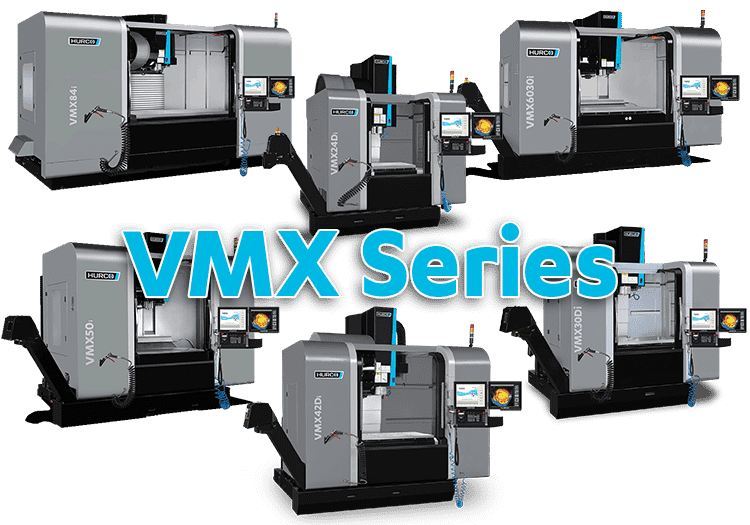 CNC Machines Hruco VMX Series 3-Axis